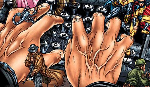 Alan Moore écrit pour la bande dessinée