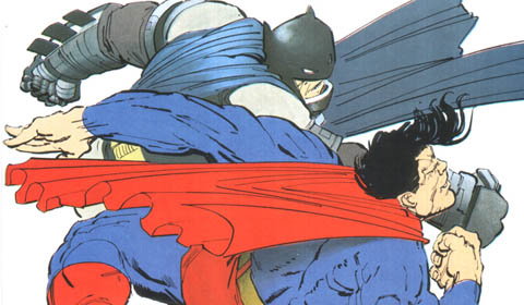 TDKR : Batman colle une branlée à Superman