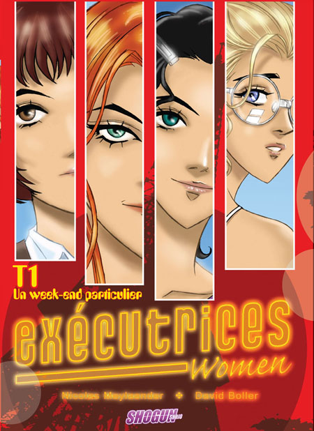 Executrice Women : euromanga dans la collection Shogun des Humanos.