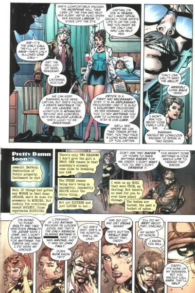 Frank Miller scénarise le Goddamn Batman sur des dessins de Jim Lee.