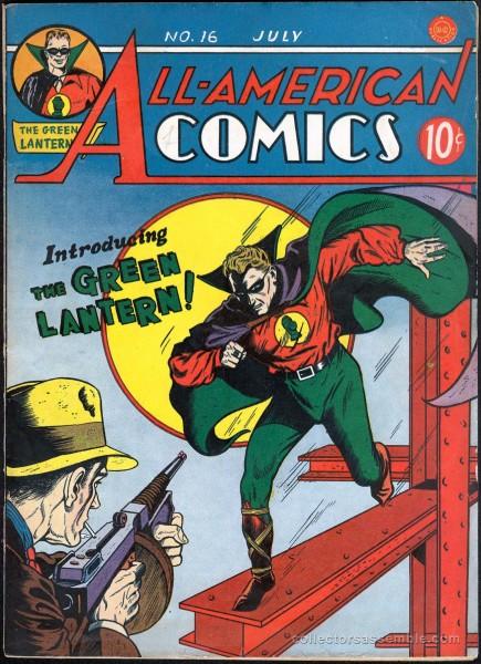 Green Lantern I : créé par Bill Finger et Martin Nodell en 1940