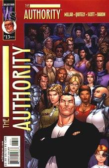 Authority #13 (Wildstorm) - couverture par Frank Quitely