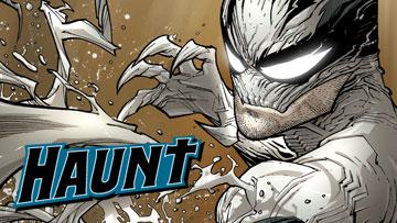 Haunt : le super-héros à moitié mort !