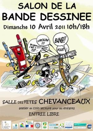 Avril 2011 : festival BD en Charente Maritime