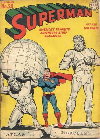 Superman est un mythe moderne à la hauteur d'Atlas ou d'Hercule
