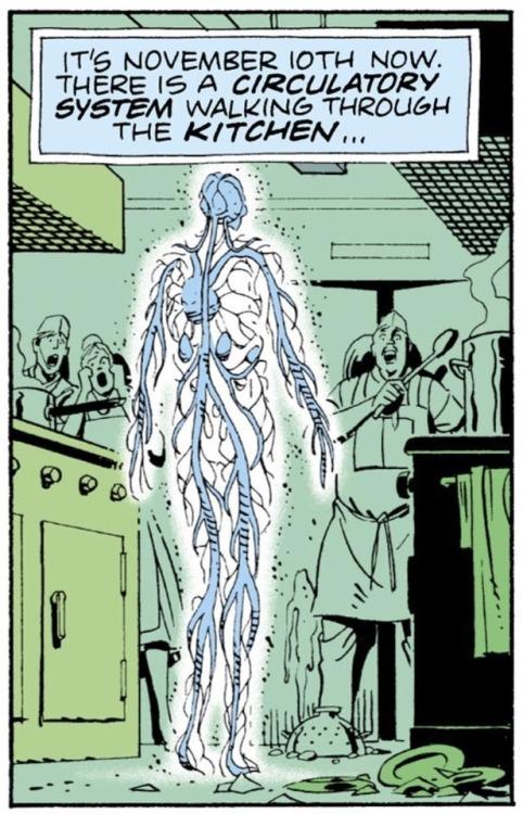 L'intrigue de votre histoire, c'est un peu comme le système circulatoire d'un être vivant.