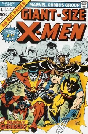 Les X-Men ont vraiment commencé à cartonner grâce à la nouvelle équipe (avec Serval, Diablo, Colossus...)